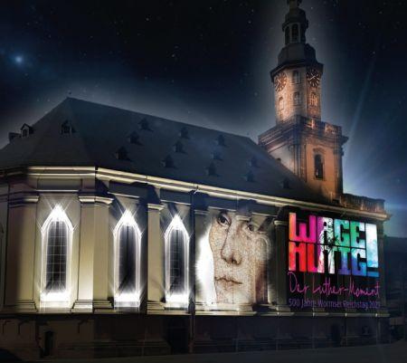 """Bildquelle: EKHN - Die evangelische Kirche und die Stadt Worms erinnern an den """"Luther- Moment"""" mit einem umfangreichen Programm ."""